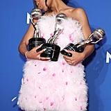 Marsai Martin's Pamella Roland Dress at NAACP Image Awards
