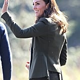 The Duchess of Cambridge in a Plaited Headband