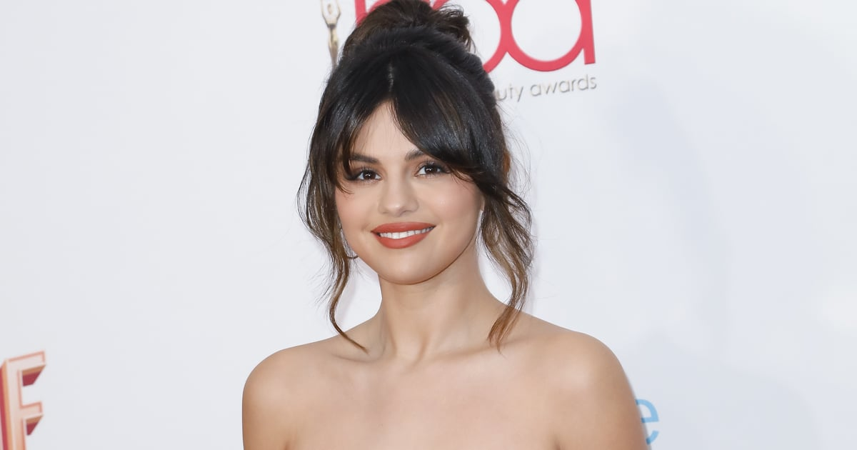 Selena Gomez's Bandana-Printed Nail Art Will Have You Running to Your Manicurists, STAT.jpg