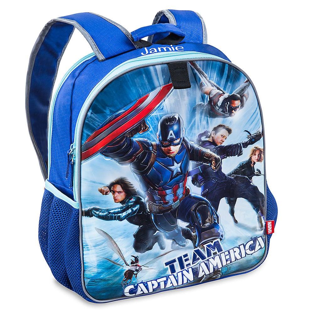 Disney Captain America: Civil War Reversible Backpack