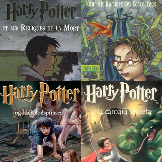 Harry Potter Book Cover Country : Harry potter international book covers popsugar tech