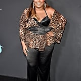 While attending the 2018 GQ x Neiman Marcus All Star Party, Lizzo proved that style is about having more than just a bold pattern — it's about how you wear it. Apart from wearing here corset over blouse, Lizzo wore a matching leopard-print headband that tied the look together perfectly.