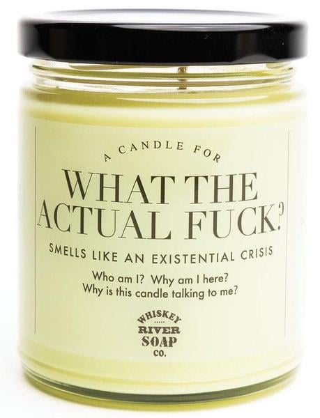Whiskey River Soap Co. What the Actual F*ck? Candle