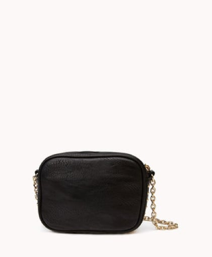 Forever 21's chain-strap bag ($22) has cool-girl appeal, not to mention it's the perfect size for stashing your essentials.