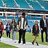 See Photos of Blue Ivy Playing Football at the Super Bowl