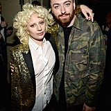 Pictured: Lady Gaga and Sam Smith