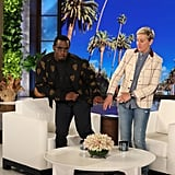 Sean Diddy Combs Scared by a Clown on Ellen 2018