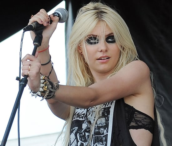 Taylor Momsen and The Pretty Reckless performing in Florida on july 24,2010