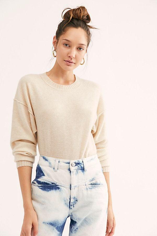 Free People Break Of Dawn Cashmere Sweater