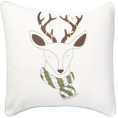 Deer Lights Pillow ($20)