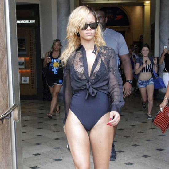 Rihanna Pantsless in Monte Carlo | Photos