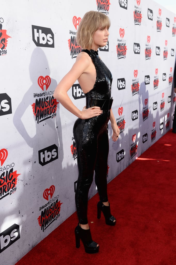 taylor swift u0026 39 s jumpsuit at the iheartradio music awards