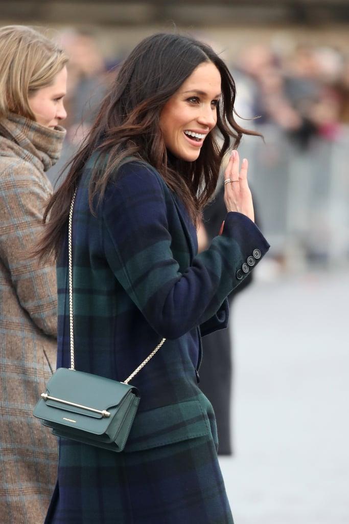 Meghan Markle's Green Strathberry Crossbody Bag