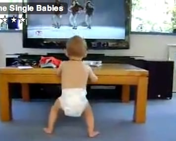 "Cute Alert: Baby Hears the Call of ""All the Single Ladies"""