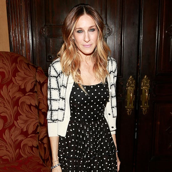 Sarah Jessica Parker in Polka Dots and Checks (Video)