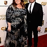 Melissa McCarthy and her husband, Ben Falcone, coupled up on the Critics' Choice Awards red carpet.