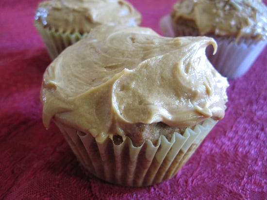 Brown-Sugar-Pecan Cupcakes With Caramel Frosting Recipe