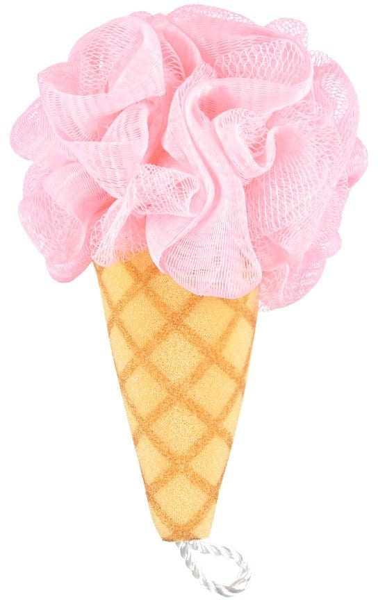 Ice Cream Cone Bath Sponge