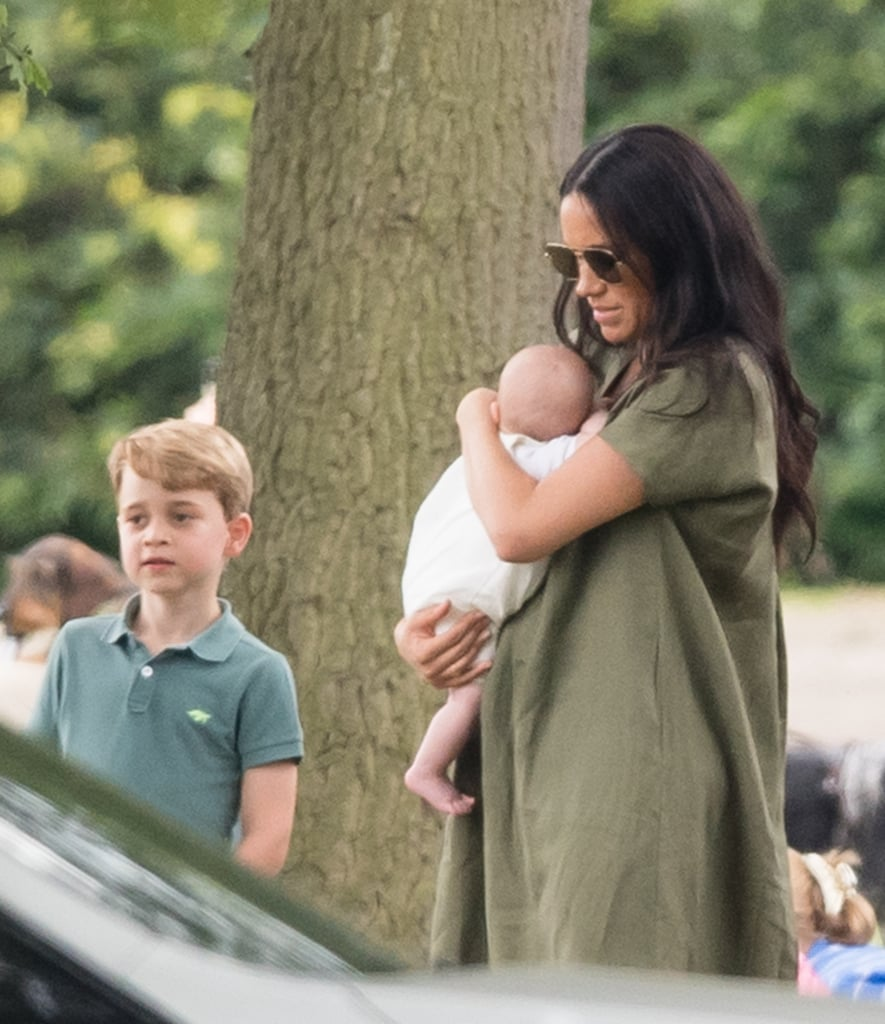 Meghan Markle, Prince Harry, And Baby Archie Polo Match