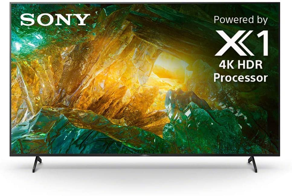 Sony X800H 55 Inch TV: 4K Ultra HD Smart LED TV with HDR and Alexa Compatibility