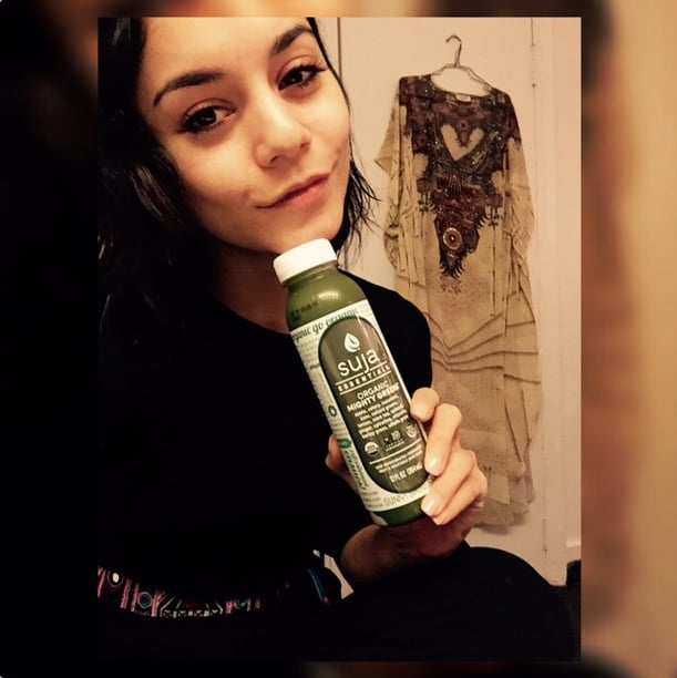 Guess who got her Mighty Greens on? Vanessa Hudgens is all about it.