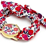 Flowers of Liberty Wiltshire Liberty Print Knot Watch (£60)