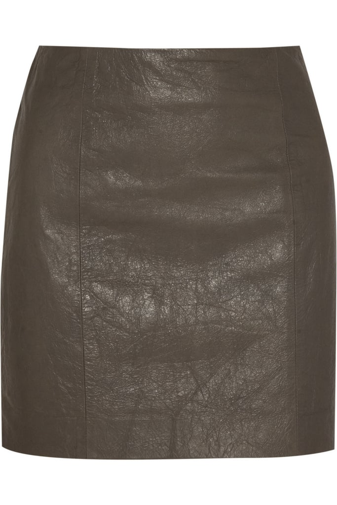 When it comes to 'investment' pieces you can't go wrong with a material like leather and a good quality brand like Theory.— Laura, Shopstyle.com.au country manager.  Leather skirt, approx $273, Theory at The Outnet