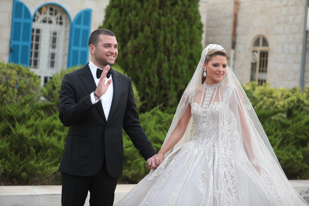 When You're Elie Saab's Daughter-in-Law, Your 4 Wedding Dresses Look Like This