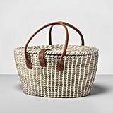 Woven Picnic Basket Set