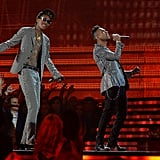 Miguel and Wiz Khalifa took the stage together.