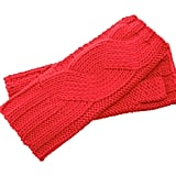 Michael Kors Red Fingerless Gloves