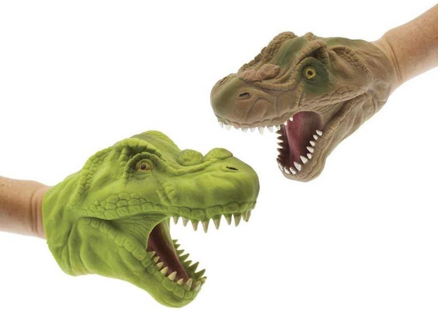 Fierce Dinosaur Hand Puppet - Best Imaginative Play for Ages 3 to 6
