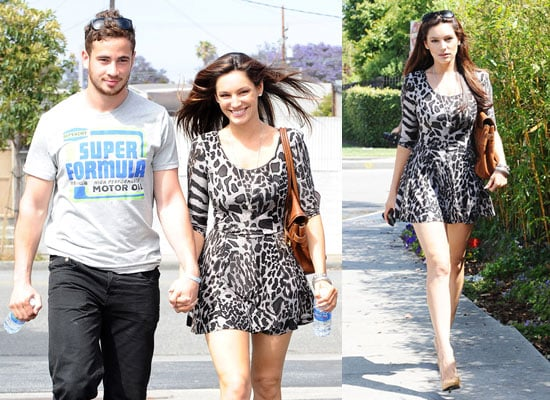 Pictures of Kelly Brook and Danny Cipriani in LA Ahead of Kelly's Nude Playboy Shoot Pictures Watch Kelly's FHM Bikini Shoot