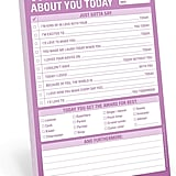 Knock Knock What I Love About You Checklist Notepad