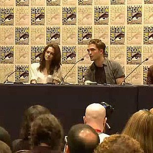 Breaking Dawn Press Conference Video With Robert Pattinson