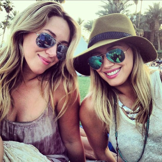 Celebrity Twitter and Instagram Pictures Coachella 2013