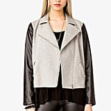 Hard to believe this Forever 21 cool combo moto jacket ($23) comes in under $25, huh?