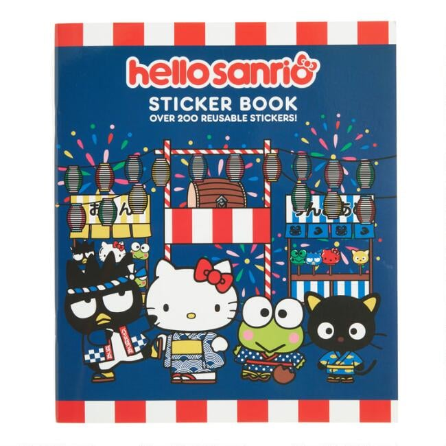 Hello Kitty Omatsuri Festival Sticker Book