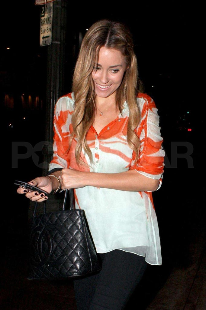 Lauren Conrad at Beso