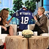 """Trying to Say """"New York Giants"""""""