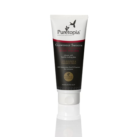 Puretopia Glowingly Smooth Exfoliating & Renewing Body Polish, $14.95