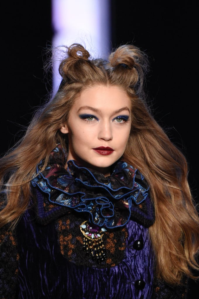 Pat Mcgrath S Best Runway Looks: Pat McGrath Blue Eye Shadow Teased