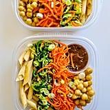 Lunch: Cold Sesame Noodle Bowls