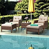 Costway Rattan Wicker Furniture Set