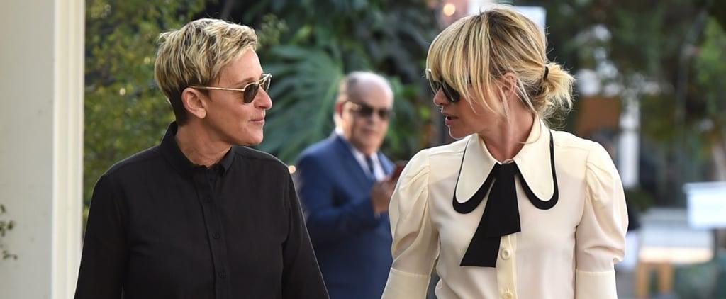 Ellen DeGeneres and Portia de Rossi Holding Hands in LA 2017