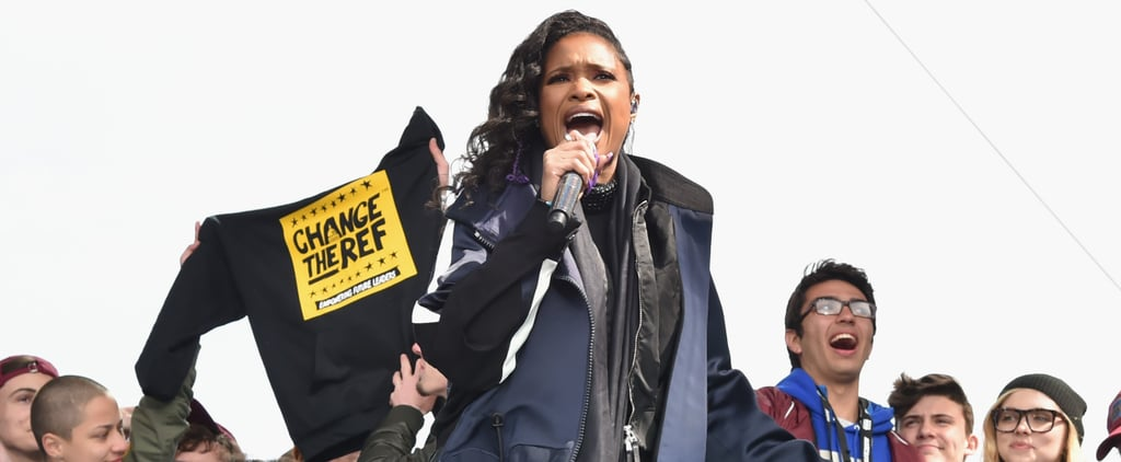 Jennifer Hudson Performing at March For Our Lives Video