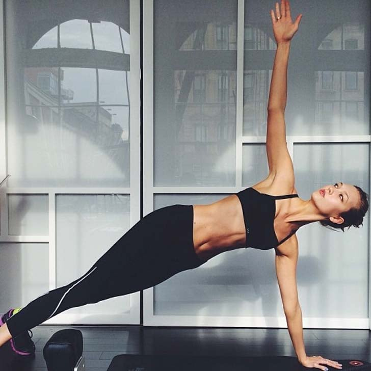 Karlie Kloss Working Out Pictures Popsugar Fitness