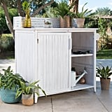 Belham Living Brighton Beach Wood Potting Bench Cabinet