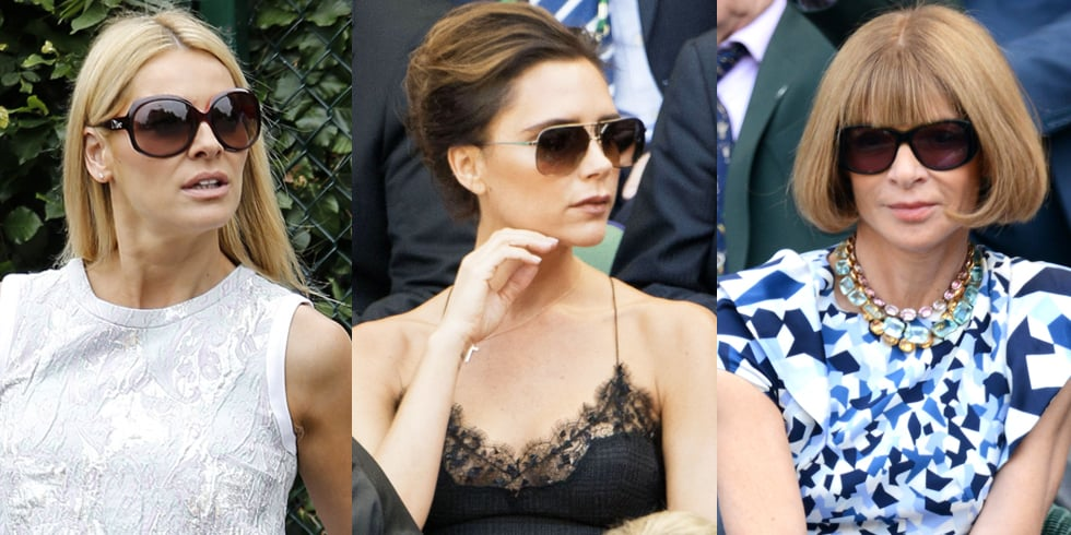 Wimbledon Celebrity Fashion 2013