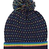 Nautica Rainbow Heart Pom Hat